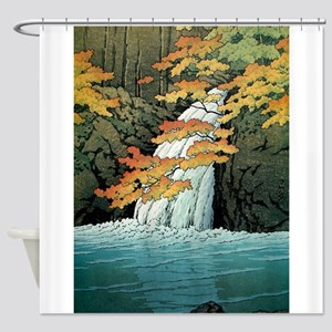 Senju Waterfall, Akame - Kawase Has Shower Curtain