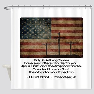 Defining Forces Shower Curtain
