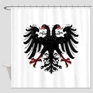 Holy Roman Empire Insignia Shower Curtain