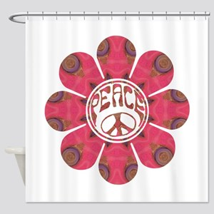 Peace Flower - Affection Shower Curtain