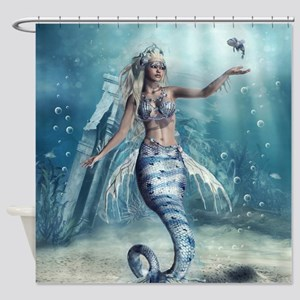 Fantasy Mermaid Shower Curtain