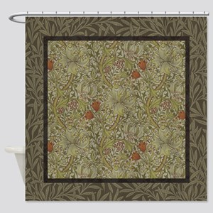 Gray And Tan Shower Curtains Cafepress
