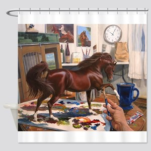 American Saddlebred Art Shower Curtain
