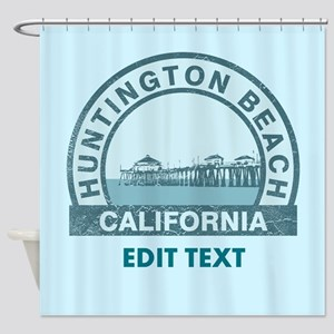 Huntington Beach Shower Curtain