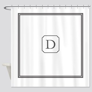 Monogram Shower Curtain