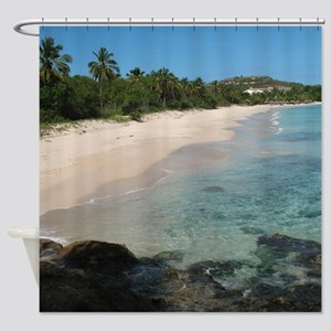 Coconut Beach Shower Curtain