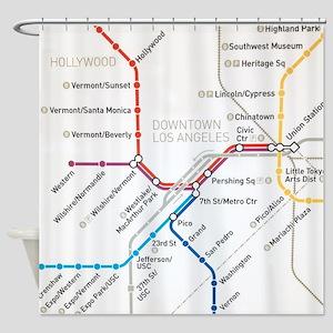 Wash Dc Metro Subway Map.Washington Dc Metro Subway Map Shower Curtains Cafepress
