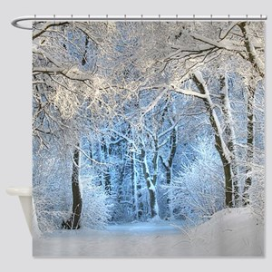 Another Winter Wonderland Shower Curtain