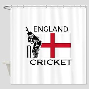England Cricket Shower Curtain