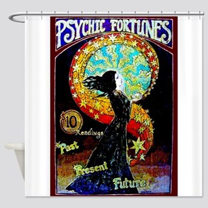 Psychic Fortune Teller Shower Curtain