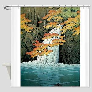 Senju Waterfall, Akame - Kawase Has Shower Curtain