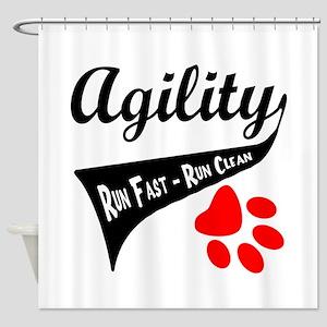 Agility Tail Shower Curtain