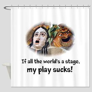 My Play Sucks Shower Curtain