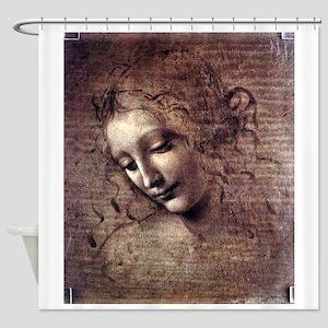 La Scapigliata - da Vinci Shower Curtain