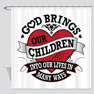 Adoption Tattoo Shower Curtain