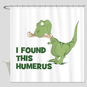 Cartoon Dinosaur Shower Curtain