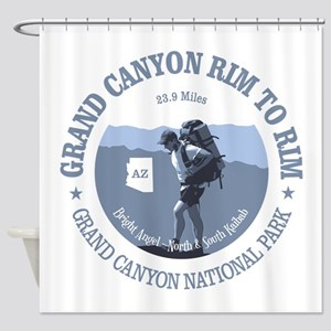Grand Canyon Rim to Rim Shower Curtain