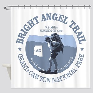 Bright Angel (rd) Shower Curtain