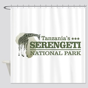 Serengeti NP Shower Curtain
