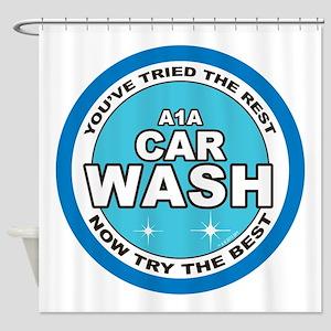 A1 Car Wash Shower Curtain