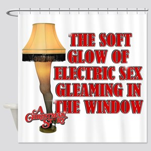 Electric Sex Shower Curtain