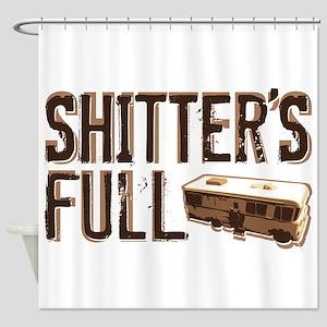 Shitter's Full Shower Curtain