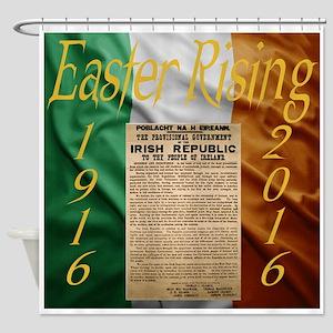 Easter Rising Centenary Shower Curtain