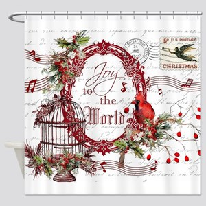 Joy To the World Shower Curtain