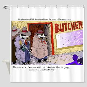 Al Capone The Cow Shower Curtain