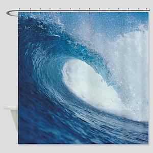 OCEAN WAVE 2 Shower Curtain