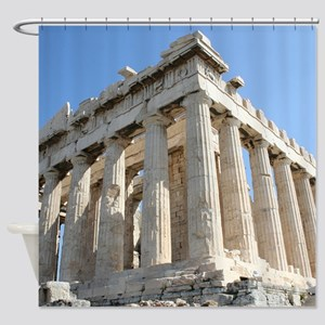 PARTHENON Shower Curtain