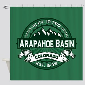 Arapahoe Basin Forest Shower Curtain