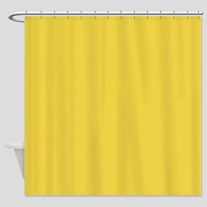 sunny yellow 2 Shower Curtain