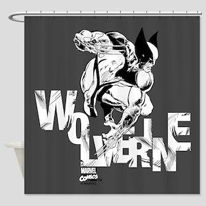 Wolverine Shower Curtain