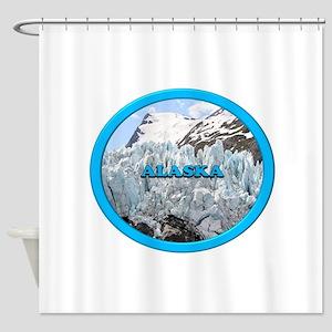 Alaska: Portage Glacier, USA 2 Shower Curtain