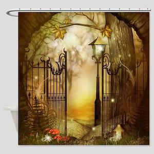 Fairy Woodlands 8 Shower Curtain