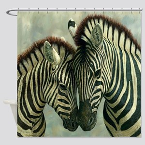 Zebras Shower Curtain