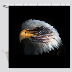 eagle3d Shower Curtain