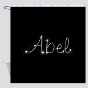 Abel Spark Shower Curtain