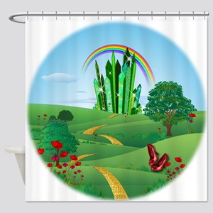 Wizard Of Oz Emerald City Shower Curtain