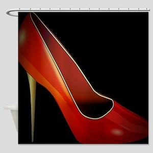 high heel Shower Curtain