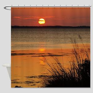 OBX Sunset Shower Curtain