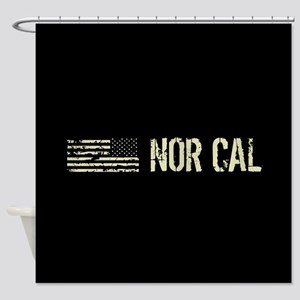 Black Flag: Nor Cal Shower Curtain