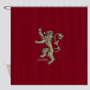Game of Thrones House Lannister Shower Curtain