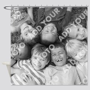 Add Your Photo Shower Curtain