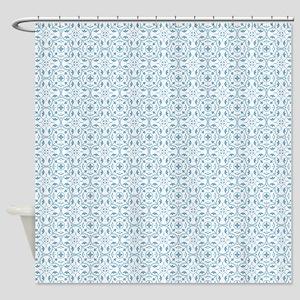Amara Cornflower Shower Curtain