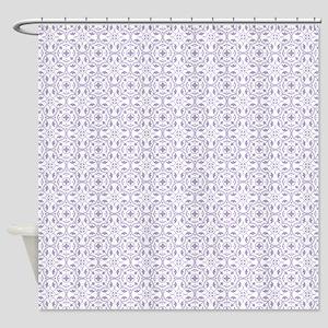Amara Lavender Shower Curtain