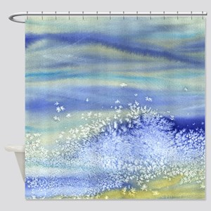Sea Spray Shower Curtain