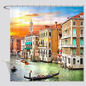 Venice Photo Shower Curtain