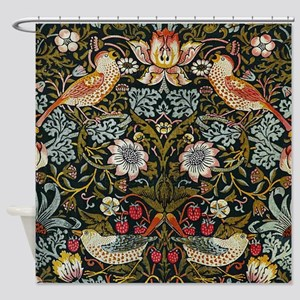 William Morris Strawberry Thief Shower Curtain